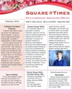 Fellowship Square-Mesa Newsletter