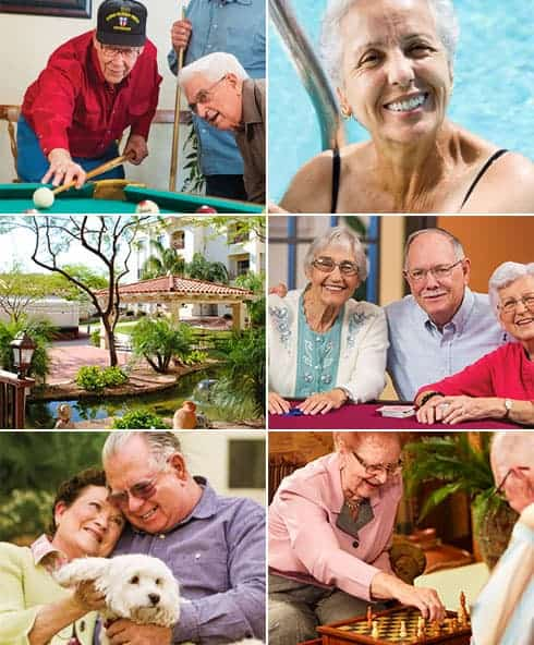 Senior Living at Fellowship Square-Mesa